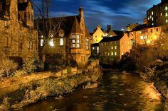 Dean Village Scotland. Fantasy beautiful... I love Scotland