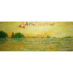Paisaje La Tienda de ArteCanario.es  Artista: Antonio Doreste  #artecanario #comprar #arte #canarias
