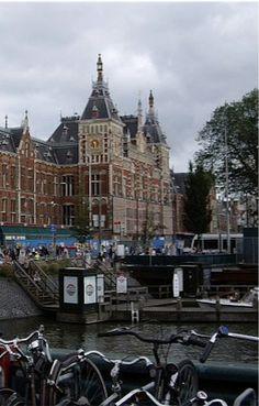 Netherlands. Central Station, Amsterdam