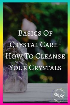 So you bought your crystals, now what? Find out how to rock one of the 7 different ways to cleanse your crystals and get rid of the negative energy that they're holding on to. Find out which crystals can't be cleansed with certain cleansing techniques because they will dissolve or fade. Always take care of your crystals and fill them back up with proper positive energy and your intentions.