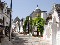 Alberobello...One of the most unusual, beautiful cities I've seen.  A must see in southern Italy