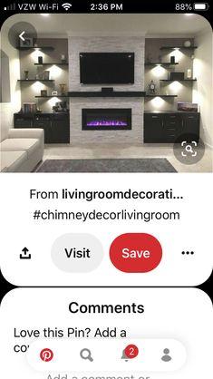 Chimney Decor, Living Room Shelves, Shelving Units, Flat Screen, The Unit, Blood Plasma, Fire Place Decor, Living Room Shelving, Shelf