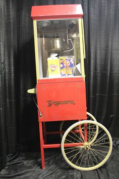 Our Popcorn Machine with Popcorn Bags and Popcorn Kernnels and Oil packages. Great for birthday parties, movie nights, snacks at weddings and so much more! Popcorn Bags, Popcorn Maker, Candy Games, Movie Nights, Stove, Birthday Parties, Packaging, Success, Oil