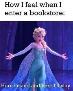 This is me every time.  When I'm old and the book clerk asks me 'After all this time?' and I'll say 'Always.'