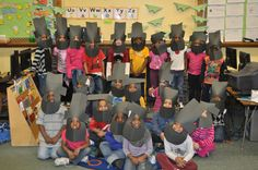 Ms. Griffith's K4 class at Neeskara Elementary School studied Abraham Lincoln and George Washington following President's Day last week. The students learned many facts about both presidents, and created a song about President Lincoln using the facts they learned. The class also enjoyed making Abraham Lincoln masks!