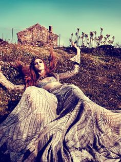 When Nature Calls | Nataliya Piro | Costas Avgoulis photography | Marie Claire Greece - Nov 2011