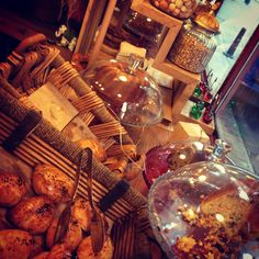 Homemade cookies and cakes, delicious coffees