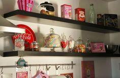 my rockabilly diner kitchen