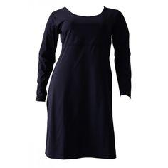 Grote maten damesmode Boris Industries Jurken Boris Industries jurk meryl lm zwart of taupe t/m mt 46 | Fashion In Conflict