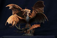 Cloudjumper Dragon Sculpture HTTYD 2 figurine How to train your dragon 2 fantasy animal creature art sculpture magic gif