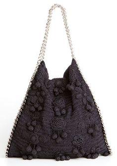 Os maravilhosos vestidos e bolsas em crochê e tricô de seda de Vanessa Montoro e Corello - Fashion Bubbles - Moda Com Conteúdo, Beleza, Tend...
