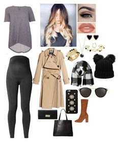"""Untitled #285"" by loser33 ❤ liked on Polyvore featuring Noppies, Isabella Oliver, Burberry, River Island, Smashbox, Barneys New York, Renee Lewis, INC International Concepts, MICHAEL Michael Kors and Linda Farrow"
