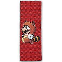 YellowNN Cute Super Mario Super Absorbent Microfiber Non Slip Yoga Towel Hot Yoga Towel 72  24 Inch >>> Read more reviews of the product by visiting the link on the image.(This is an Amazon affiliate link and I receive a commission for the sales)