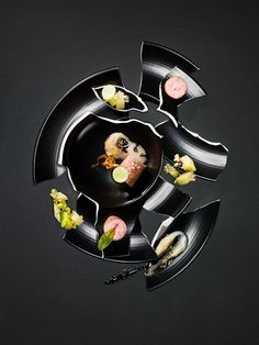 Deconstructed Food on Behance
