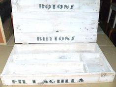 Decorando con piezas artesanales a partir de madera reciclada