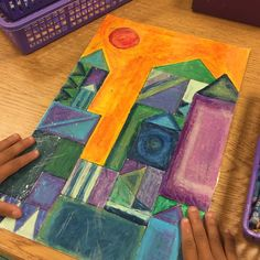 One of my favorite projects of the year! Paul Klee inspired cool building and warm backgrounds! #artteacher #iteachtoo #artroom #teachersofintagram #teachersfollowteachers #teacherlife #iteachart #education #ArtEd #artteachers #artteachersofinstagram #artistsatwork #artist #artists #kidsartclass #artistic #elementaryarts #elementaryart #elementaryartresources #artsy #elementaryschool #school #arteducation #elementaryarteducation #artinstructor #paulklee
