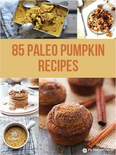 85 of the Best Paleo Pumpkin Recipes