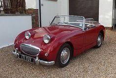 British Sports Cars, Classic Sports Cars, Classic Cars, Convertible, Austin Healey Sprite, Smart Car, Mk1, Fast Cars, Old Cars