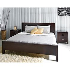 This bed is awesome... but expensive.    @Overstock - Complete your home decor with this Hamptons bed  Bedroom furniture has a cappuccino finish   King-size bed features solid oak constructionhttp://www.overstock.com/Home-Garden/Hamptons-King-size-Bed/3963648/product.html?CID=214117 $979.79