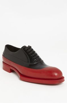 "Prada Rubber Tipped Oxford "" Ah, why must I have such big feet?"""