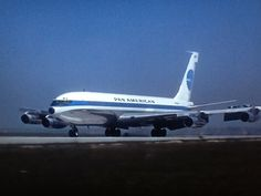Pan Am Boeing 707 -grandpa worked for them. Fond memories