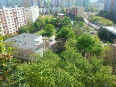Bratislava, 2-garzónka, ul.Gessayova 39 - pohľad z balkóna vľavo.