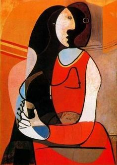 SEATED WOMAN | Pablo Picasso | 1927