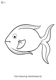 Free Downloadable Fish Worksheets for Kids. Fish Coloring Page, Colouring Pages, Coloring Sheets, Fish Swimming, Worksheets For Kids, Parenting, Snoopy, Names, Chart