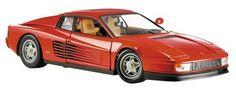 Mattel 1/18 Scale Ready Made Die Cast - Ferrari Testarossa 1984 Red (Barcode EAN = 0027084311532). http://www.comparestoreprices.co.uk/diecast-model-cars--others/mattel-1-18-scale-ready-made-die-cast--ferrari-testarossa-1984-red.asp
