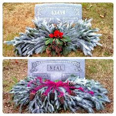 grave blanket grave flowers cemetery flowers funeral flowers diy grave blankets graveside - Christmas Grave Decorations