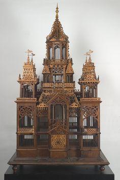Bird cage as decoration