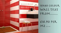 The latest craze of bathroom wall tiles from entirelytiles.co.uk. From as little as £18.90 Per M2. We really could save you money.