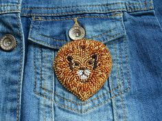 Check out this item in my Etsy shop https://www.etsy.com/listing/547587944/lion-brooch-king-lion-beads-brooch #BeadsBrooch #Embroiderybrooch #Animalbrooch #brooch #badge #lionbrooch