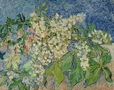 Great art from Art Authority for iPad: Blossoming Chestnut Branches by Gogh, Vincent van