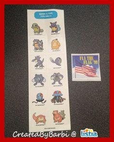 90s Pokemon Stickers