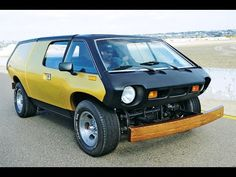 Brubaker Box - the first minivan - YouTube