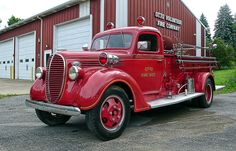 Ford Fire Truck, via Flickr.
