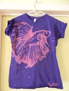 Bleach Shirt Betta fish 1 by jupiterjenny on deviantART.  I really, really, really want this shirt!