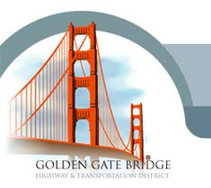 The Golden Gate Bridge, Highway and Transportation District is a special district of the State of California which operates and maintains the Golden Gate Bridge and two unified public transit systems - Golden Gate Transit and Golden Gate Ferry. Gate Logo, Puente Golden Gate, Virtual Field Trips, Vegas, San Francisco Travel, Road Trip Usa, Pacific Coast, California Travel, Historia