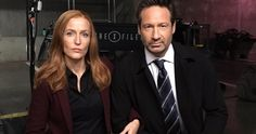 Gillian Anderson and David Duchovny take a knee on the X-Files Season 11 set as NFL players protest across America.