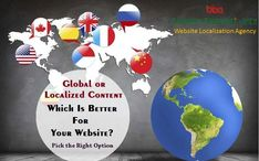 Bhasha Bharati based in India offers a professional and certified website localisation ( translation) services