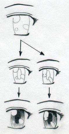 Frisuren zeichnen schritt fur schritt