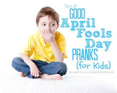 Do you have any good April Fools Day pranks up your sleeve? This year I am excited to play a couple of these pranks on my Best April Fools, April Fools Day, Funny April Fools Pranks, Funny Pranks, Cool Magic Tricks, Pranks For Kids, Love My Kids, Fun Activities For Kids, The Fool