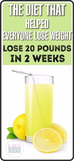 The Diet That Helped Everyone Lose Weight: 20 Pounds Less For Just Two Weeks