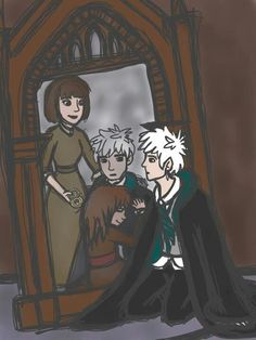 Another pic of Jack in front of the mirror of Erised. WWWWAAAAHHHHH!!!!!