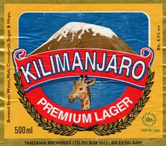 First beer I learned to like.. Kili