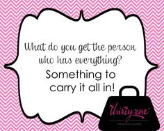 Need a gift a idea? Why not a large utility tote or one of our other fabulous bags or totes that can be personalized!