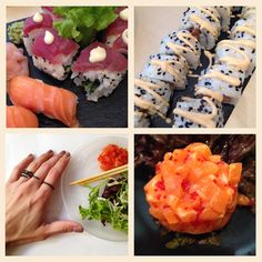 Harmony on a plate! We are loving our LA VIE Jewelry Ring Fling! www.wecreateharmony.com We Are Love, Sushi, Jewelry Rings, Plates, Ethnic Recipes, Food, Licence Plates, Dishes, Griddles