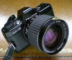 Pentax Auto 110 and 20-40mm zoom lens - 1979
