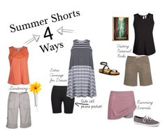"""Summer Shorts 4 Way"